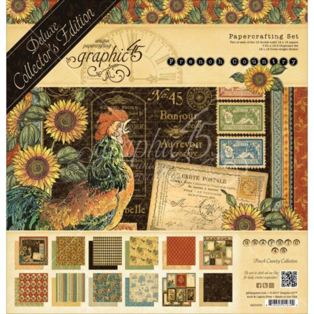 Graphic 45 - French Country - 4501579