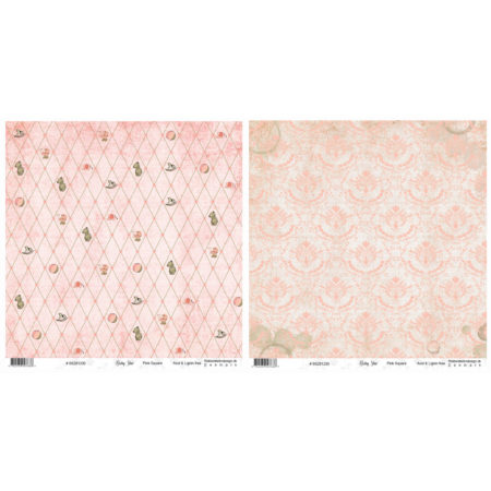 Riddersholm Design - Baby Star – Pink Square - BS281200