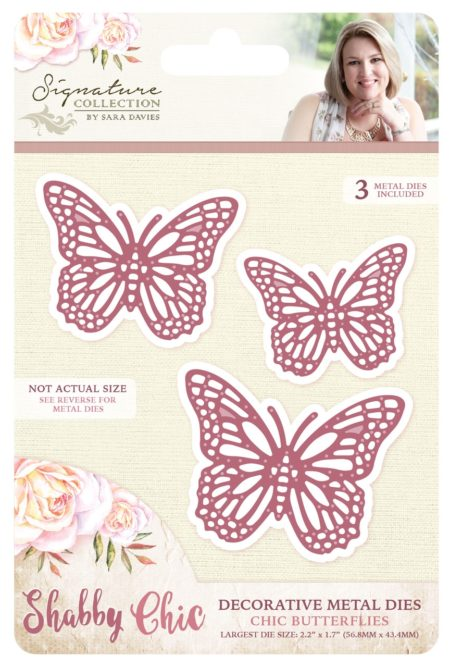 Crafter's Companion - Die - Chic Butterflies (S-SC-MD-CBUT)