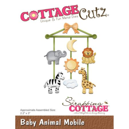 Cottage Cutz - Baby Animal Mobile - cc-273