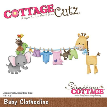 Cottage Cutz - Baby Clothesline - cc-279
