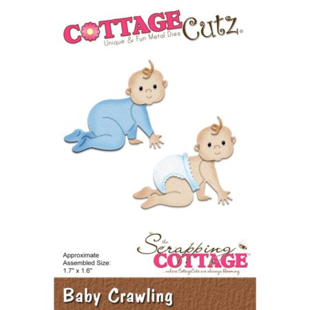 Cottage Cutz - Baby Crawling - CC-280
