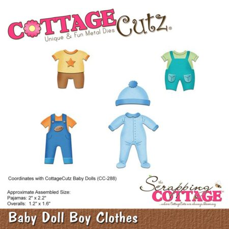 Cottage Cutz -Baby Doll Boy Clothes - cc-286