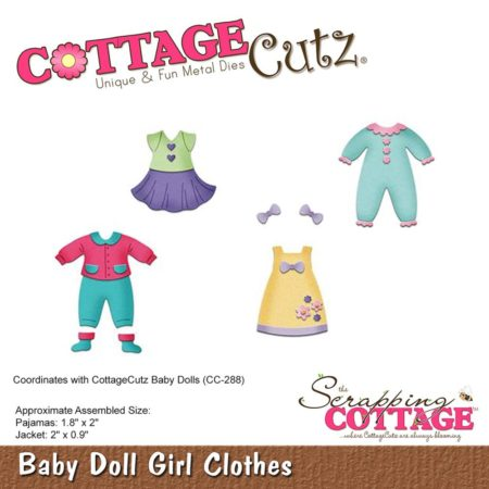 Cottage Cutz -Baby Doll Girl Clothes - cc-287