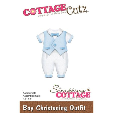 Cottage Cutz - Boy Christening Outfit - cc-297