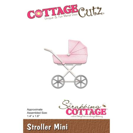 Cottage Cutz - Stroller Mini - cc-309