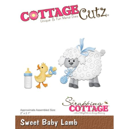 Cottage Cutz - Sweet Baby Lamb - cc-310