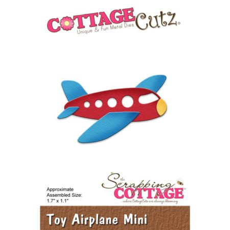 Cottage Cutz - Toy Airplane Mini - cc-311