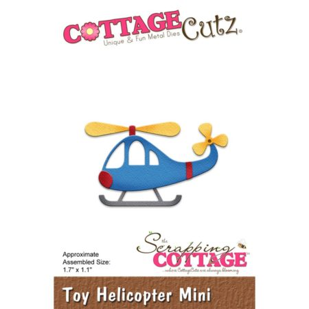 Cottage Cutz -Toy Helicopter Mini - cc-312