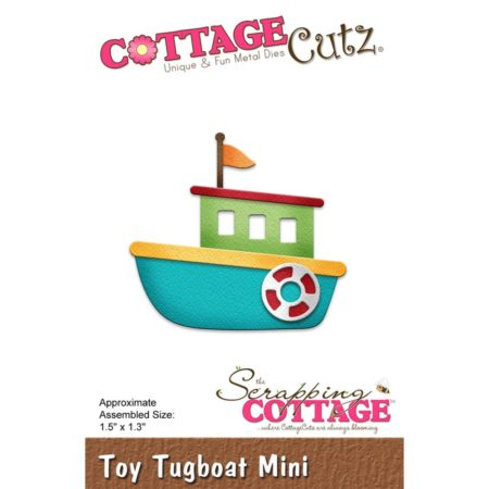 Cottage Cutz - Toy Tugboat - cc-314