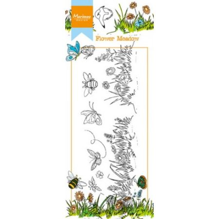 Marianne Design - Clear Stamp - Blomsteeng (HT1613)