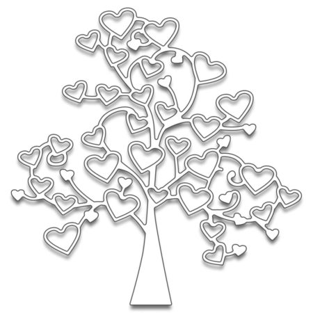 Penny Black Creative Dies - Tree Of Love - 51-100