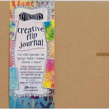 Dyan Reaveley's Dylusions Flip Journal Kraft - DYJ53583
