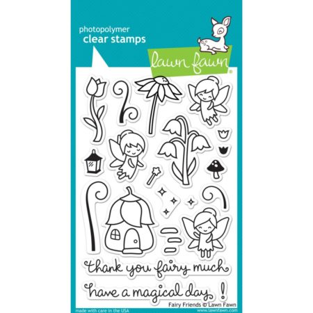 Lawn Fawn Clear Stamps - Fairy Friends - LF1057