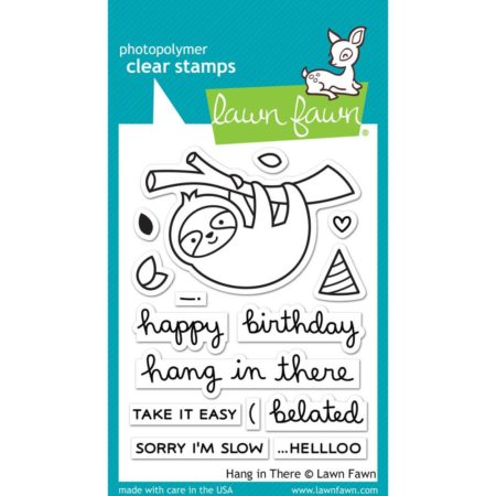 Lawn Fawn Clear Stamps - Hang In There - LF1311