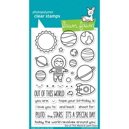 Lawn Fawn Clear Stamps - Out Of This World - LF1330