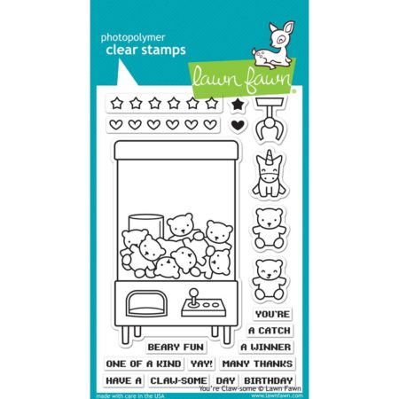 Lawn Fawn Clear Stamps - You're Claw-some - LF1405