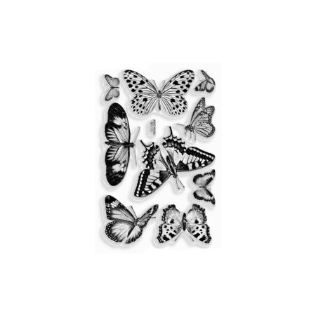 Stampendous Perfectly Clear Stamps - Butterflies - SSC028