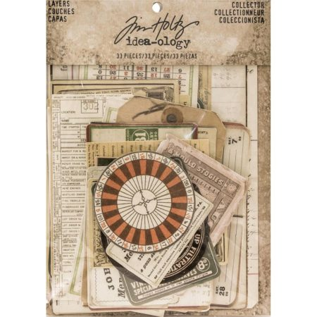Tim Holtz - Idea Ology - Layers Cards - TH93553