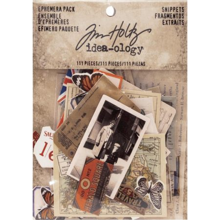 Tim Holtz - Idea Ology - Snippets Tiny Die-Cuts - TH93564
