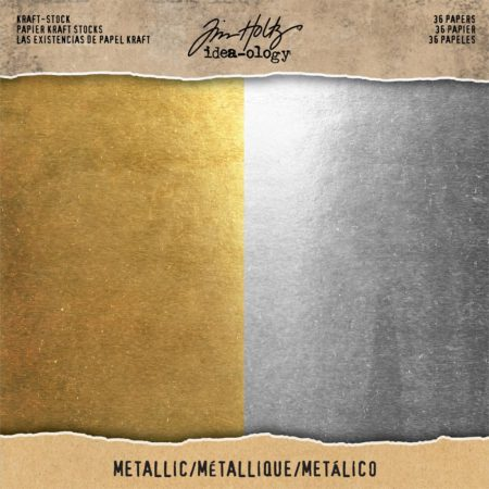 Tim Holtz - idea-ology - Metallic Gold & Silver - TH93586