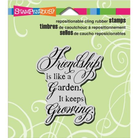 Stampendous Cling Stamp - Friendship Grows - CRP326