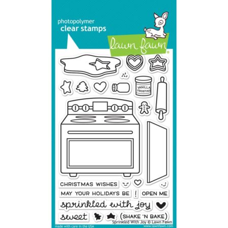 Lawn Fawn Clear Stamps - Sprinkle With Joy - LF1214