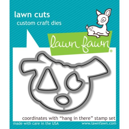 Lawn Fawn Dies - Hang In There - LF1312