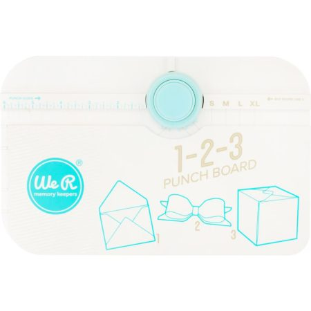 We R Memory Keepers - 123 Punch Board - 662530