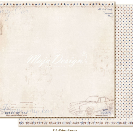 Maja Design - Denim & Friend - Drivers License - 910