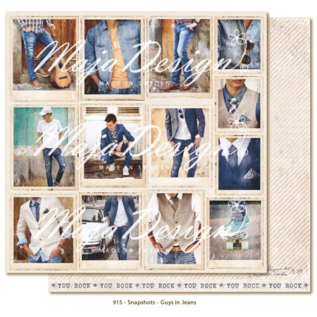 Maja Design - Denim & Friend - Snapshots - Guys in Jeans - 915