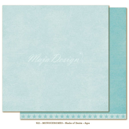 Monochromes - Shades of Denim - Aqua - 922