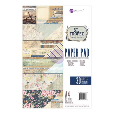 Prima - St. Tropez Collection - A4 Papir blok - 992743