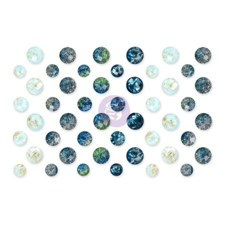 Prima - St. Tropez Say It In Crystals Adhesive Embellishments - 992811