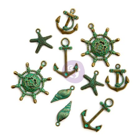 Prima - Metal Embellishments - Metal Pack - 993276