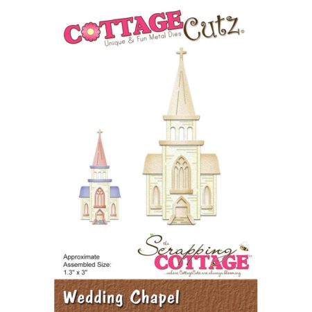 Cottage Cutz - Wedding Chapel - Kirke - CC-328