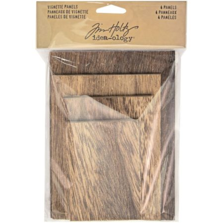 Tim Holtz - Idea-Ology - Wooden Vignette Panels - TH93295