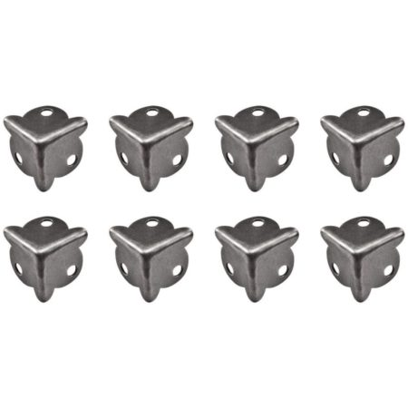 Tim Holtz - Idea-Ology Metal Box Corners W/Fasteners