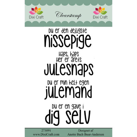 Dixi Craft - clearstamp - Tekst - 273091
