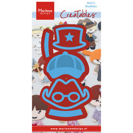 Marianne Design – Kim's Buddies boy set - LR0475