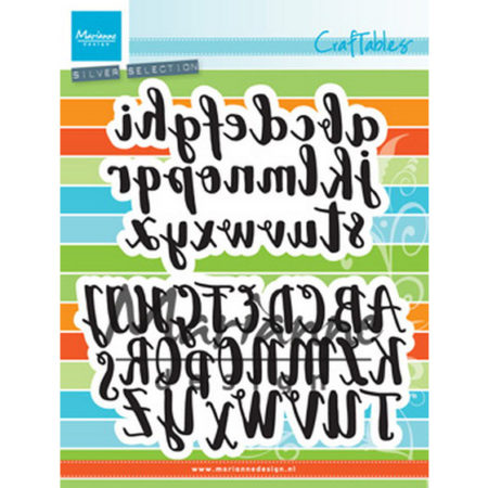 Marianne Design - Brush Alphabet - CR1416