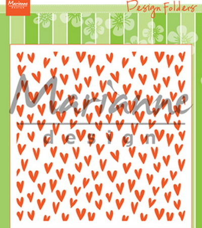 MARIANNE DESIGN - Trendy Hearts - DF3438