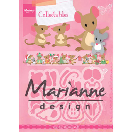 Marianne Design - Eline's Mice Family - COL1437