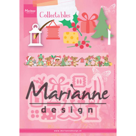Marianne Design - Eline's Christmas Decoration - COL1439
