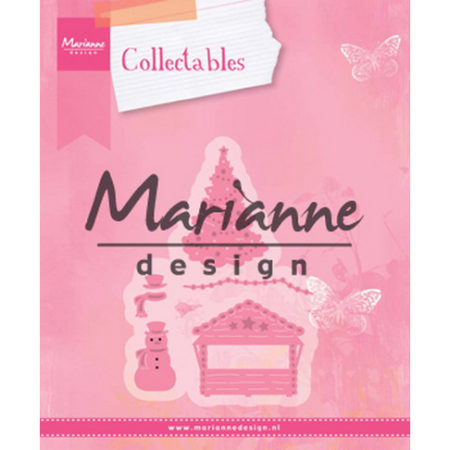 Marianne Design - Eline's Village Decoration set 5 - COL1440