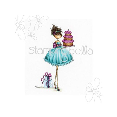 Stampingbella - Uptown Girl Ava Loves To Celebrate - EB216