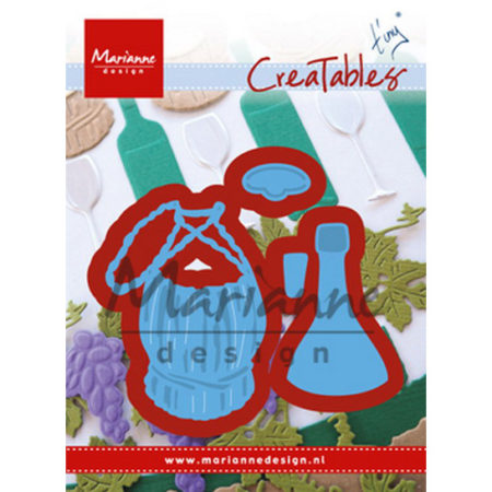 Marianne Design - Tiny's Italian wine bottle - LR0479