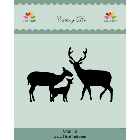 Dixi Craft Dies - Deer Family - MD0118