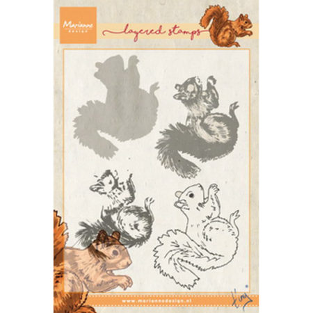 Marianne Design - Tiny's Squirrel - Layering - TC0856