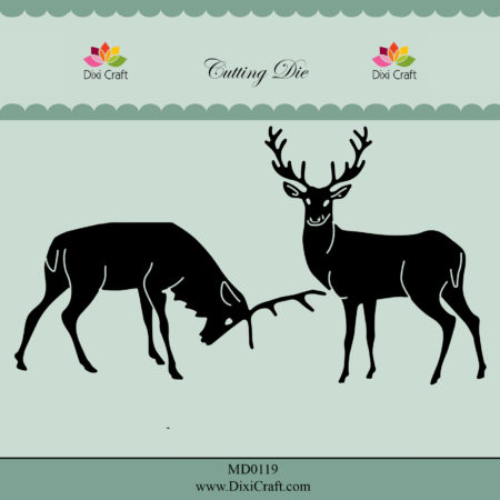 Dixi Craft Dies - Reindeers - MD0119